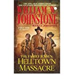 Portada de [(THE FAMILY JENSEN: HELLTOWN MASSACRE)] [BY: WILLIAM W. JOHNSTONE]