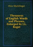 Portada de THESAURUS OF ENGLISH WORDS AND PHRASES, ENLARGED BY J.L. ROGET