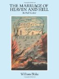 Portada de THE MARRIAGE OF HEAVEN AND HELL: A FACSIMILE IN FULL COLOR (DOVER FINE ART, HISTORY OF ART) BY BLAKE, WILLIAM UNKNOWN EDITION [PAPERBACK(1994)]