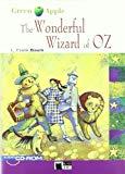 Portada de THE WONDERFUL WIZARD OF OZ. BOOK + CD-ROM (GREEN APPLE)