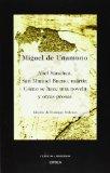 Portada de ABEL SANCHEZ, SAN MANUEL BUENO, MARTIR; COMO SE HACE UNA NOVELA