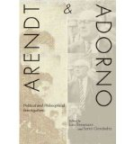 Portada de [(ARENDT AND ADORNO: POLITICAL AND PHILOSOPHICAL INVESTIGATIONS)] [AUTHOR: LARS RENSMANN] PUBLISHED ON (JULY, 2012)