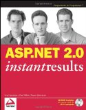 Portada de ASP.NET 2.0 INSTANT RESULTS (PROGRAMMER TO PROGRAMMER)