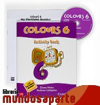 Portada de COLOURS. 6 PRIMARY. ACTIVITY BOOK
