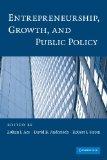 Portada de ENTREPRENEURSHIP, GROWTH, AND PUBLIC POLICY