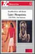 Portada de EGIPTE I MESOPOTAMIA: ELS POBLES DE LES VALLS FLUVIALS
