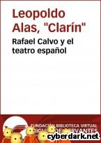 Portada de RAFAEL CALVO Y EL TEATRO ESPAÑOL - EBOOK