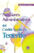 Portada de AUXILIARES ADMINISTRATIVOS DEL CABILDO INSULAR DE TENERIFE