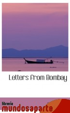 Portada de LETTERS FROM BOMBAY