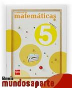 Portada de CUADERNO DE MATEMÁTICAS. 5 PRIMARIA, 2 TRIMESTRE