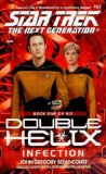 Portada de DOUBLE HELIX: INFECTION NO.1 (STAR TREK: THE NEXT GENERATION)