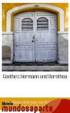 Portada de GOETHE`S HERMANN UND DOROTHEA