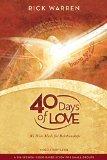 Portada de 40 DAYS OF LOVE STUDY GUIDE BY WARREN RICK (6-NOV-2009) PAPERBACK