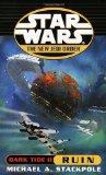 Portada de DARK TIDE II: RUIN (STAR WARS: THE NEW JEDI ORDER)