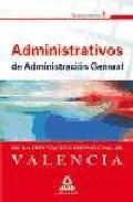 Portada de ADMINISTRATIVOS DE LA DIPUTACION PROVINCIAL DE VALENCIA. TEMARIO.VOLUMEN I