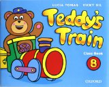 Portada de TEDDY S TRAIN: ACTIVITY BOOK B.