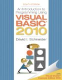 Portada de INTRODUCTION TO PROGRAMMING USING VISUAL BASIC 2010 (PEARSON CUSTOM COMPUTER SCIENCE)