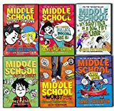 Portada de PATTERSON, JAMES MIDDLE SCHOOL 6 BOOKS COLLECTION PACK SET (SAVE RAFE!:, ULTIMATE SHOWDOWN: (MIDDLE SCHOOL 5), THE WORST YEARS OF MY LIFE, MY BROTHER IS A BIG, FAT LIAR, GET ME OUT OF HERE!, HOW I SURVIVED BULLIES, BROCCOLI, AND SNAKE HILL)