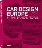 Portada de CAR DESIGN EUROPE. MYTHS, BRANDS, PEOPLE (ULTIMATE BOOKS)