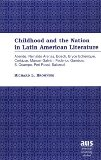 Portada de CHILDHOOD AND THE NATION IN LATIN AMERICAN LITERATURE: ALLENDE, REINALDO ARENAS, BOSCH, BRYCE ECHENIQUE, CORTAZAR, MANUEL GALVAN, FEDERICO GAMBOA, S. ... STUDIES SERIES 22: LATIN AMERICAN STUDIES)
