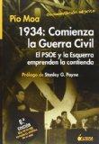 1934: COMIENZA LA GUERRA CIVIL, EL PSOE Y LA ESQUERRA EMPRENDEN L A CONTIENDA