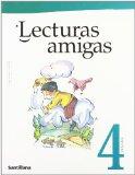 Portada de LECTURAS AMIGAS, 4 EDUCACIÓN PRIMARÍA