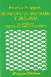 Portada de HOMEOPATÍA AVANZADA Y BIOLOGÍA.MEDICINA ENERGÉTICA BIOLÓGICA CLÍNICA