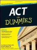 Portada de ACT FOR DUMMIES (FOR DUMMIES (LIFESTYLES PAPERBACK))