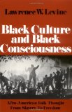 Portada de BLACK CULTURE AND BLACK CONSCIOUSNESS: AFRO-AMERICAN FOLK THOUGHT FROM SLAVERY TO FREEDOM (GALAXY BOOKS) BY LAWRENCE W. LEVINE (3-AUG-1978) PAPERBACK
