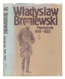 Portada de PAMIETNIK, 1918-1922 / WLADYSLAW BRONIEWSKI [LANGUAGE: POLISH]