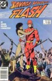 """Portada de THE FLASH ISSUE 10 MARCH 1988 """"CHUNK IN THE VOID"""""""