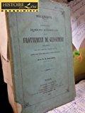 Portada de MÉCANIQUE NOUVELLES RECHERCHES EXPÉRIMENTALES SUR LE FROTTEMENT DE GLISSEMENT SPÉCIALEMENT SUR DES RAILS DE CHEMINS DE FER DANS DES CIRCONSTANCES TRÈS DIVERSES DUNOD EDITEUR PARIS 1861