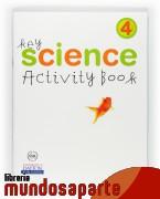 Portada de SCIENCE. 4 PRIMARY. KEY. ACTIVITY BOOK