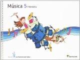 Portada de MUSICA 5 PRIMARIA LOS CAMINOS DEL SABER