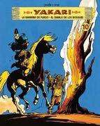 Portada de YAKARI (VOL. 10): LA BARRERA DE FUEGO. EL DIABLO DE LOS BOSQUES