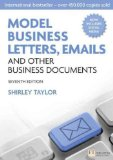 Portada de [(MODEL BUSINESS LETTERS, EMAILS AND OTHER BUSINESS DOCUMENTS)] [ BY (AUTHOR) SHIRLEY TAYLOR ] [JULY, 2012]
