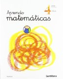 Portada de APRENDO MATEMÁTICAS, EDUCACIÓN INFANTIL, 4 AÑOS