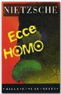 Portada de ECCE HOMO