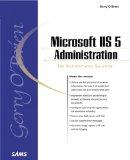 Portada de MICROSOFT IIS 5 ADMINISTRATION (SAMS WHITE BOOK SERIES)