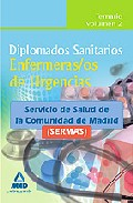 Portada de DIPLOMADOS SANITARIOS. ENFERMERAS/OS DE URGENCIAS DEL SERVICIO DESALUD DE LA COMUNIDAD DE MADRID . TEMARIO VOL.II