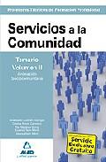 Portada de CUERPO DE PROFESORES TECNICOS DE FORMACION PROFESIONAL: SERVICIOSA LA COMUNIDAD: TEMARIO VOLUMEN II