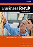Portada de BUSINESS RESULT ELEMENTARY. STUDENT'S BOOK WITH ONLINE PRACTICE 2DN EDITION
