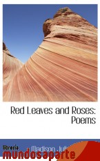 Portada de RED LEAVES AND ROSES: POEMS