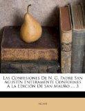 Portada de LAS CONFESIONES DE N. G. PADRE SAN AGUST