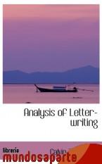 Portada de ANALYSIS OF LETTER-WRITING