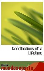 Portada de RECOLLECTIONS OF A LIFETIME