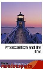 Portada de PROTESTANTISM AND THE BIBLE