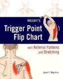 Portada de MOSBY'S TRIGGER POINT FLIP CHART WITH REFERRAL PATTERNS AND STRETCHING