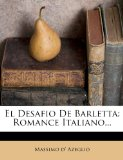 Portada de EL DESAFIO DE BARLETTA: ROMANCE ITALIANO