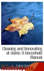Portada de CLEANING AND RENOVATING AT HOME: A HOUSEHOLD MANUAL